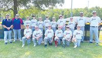 Lawrence County's 12-year-old Cal Ripken all-star baseball team went 1-2 at the Ohio Valley Regional Tournament in Lexington, Ky., last week. The Lawrence County squad finished their postseason run with a record of 5-3, which included a state championship. Team members pictured are: (front L-R) Carter Davis,Logan Rodrick, Levi McCullough, Brody Wattles, Jaxon Kiser and Keegan Liston. In back are: (L-R) coach Corey Davis, coach Chauncey Rodrick, Alex Schneider, Zadyn Loudermilk, Ross Moore, Hudson Meek, Marcus Davis, Jeryn Tarr, Aiden Decker,  coach John Wattles and coach Kyle Meek. Contributed photo