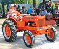 Allis-Chalmers tractors, such as this 1954 model from the 2019 antique tractor show, will be featured in this year's show. Randy Harrison | Daily News