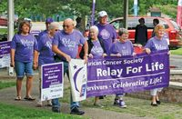 The survivors lap of the 2018 Relay for Life. The following year the event was forced indoors by weather and in 2020 Relay was one of dozens of events sidelined by the pandemic. Daily News photo
