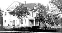 The John S. Abbot home in an undated photo.